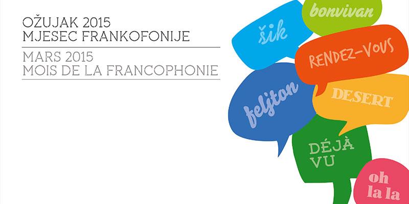 Mjesec frankofonije 2015.