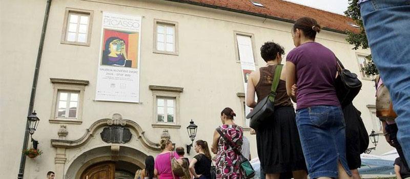 """Izložba """"Remek-djela iz muzeja Picasso, Pariz"""" u galeriji Klovićevi dvori"""